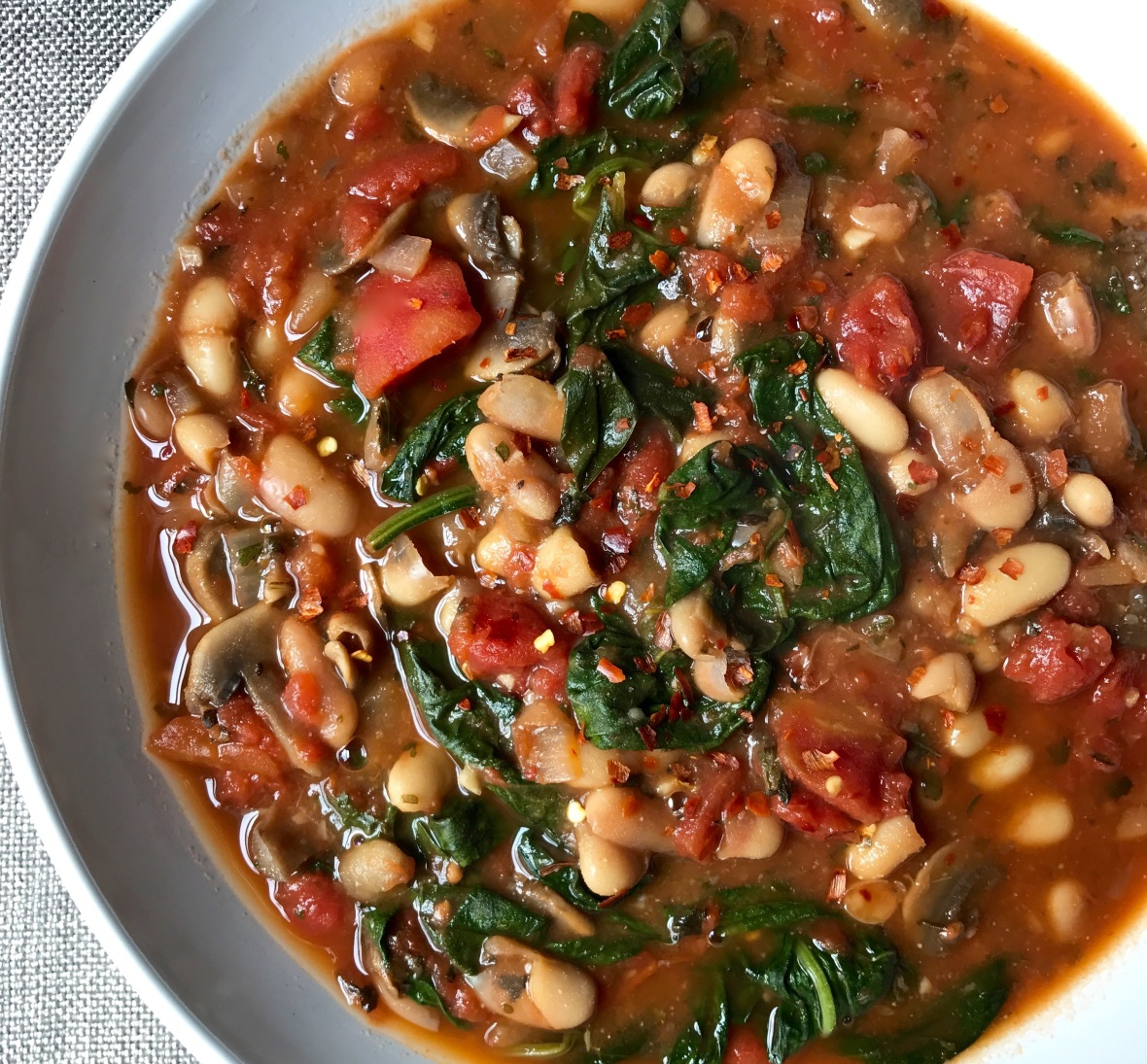 Spinach & White Bean Stew (1)